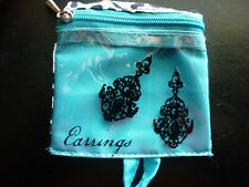 "Purse With Zipper & Hanger Loop Women's ""Earrings"" Mini Tote Style Handbag /"