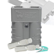 50 Amps Anderson SB50 ® Connector Kit, 36V Gray Housing, w/  6 AWG, 6319