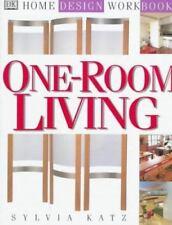 NEW - DK Home Design Workbooks: One-Room Living by Katz, Sylvia