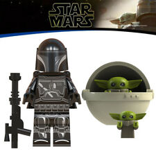 STAR WARS MANDALORIAN & BABY YODA MINIFIGURE COMPATIBLE WITH LEGO AU