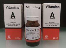3 x Serum Retinol Vitamina A anti arrugas contra el acné anti-envejecimiento