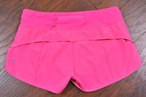 Lululemon Run: Speed Short Pink Women's 6