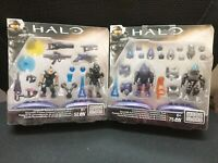 Mega Bloks Halo Covenant Armor Customizer Pack AND Covenant Weap CNH21+CNH22 NEW