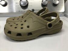 Ladies Crocs Tan USA Size 6-7 LOOK!