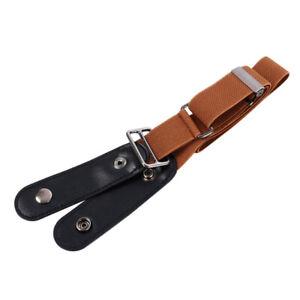 FASHION Women's Invisible Belt Buckleless Elastic Belt Jeans Invisible Belt A