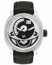 L&JR RETROGRADE DAY & DATE QUARTZ MEN'S WATCH S1303, MSRP: $1,180