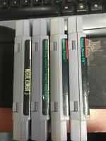SNES Video Game Lot Used Games