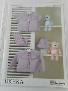 """CHILD KNITTING PATTERN, CARDIGANS, HAT, SCARF. DK, 14-20"""". FOR CHARITY 🎁"""