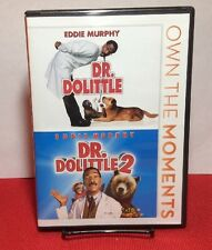 Dr. Dolittle 1  2 (DVD,2012,2-Disc Set) Used Once - Free Shipping - Eddie Murphy