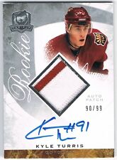 2008-09 THE CUP ROOKIE PATCH AUTOGRAPH RPA #149 KYLE TURRIS 90/99 !! RC