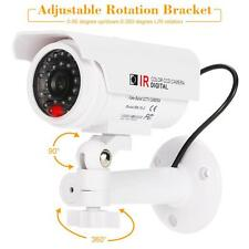 Solar Powered Simulation Dummy Rainproof Camera for House Office Security D8H2