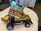 Tyco Turbo Outlaw Sprint Car Vintage RC 1/10 1980s Radio Control