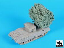 Black Dog 1/72 Carrier Frame w/Fascine for Churchill Mk.IV Tank (Dragon) T72109