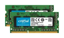 Crucial 8GB Kit 2x4GB DDR3L-1866 Unbuffered Non-ECC 1.35V SODIMM Laptop Memory