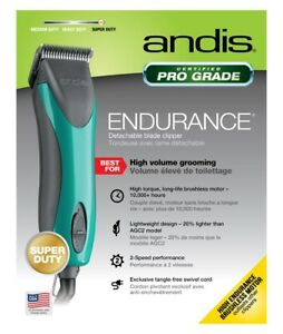 Andis Endurance Clipper Brushless 2 Speed Turquoise
