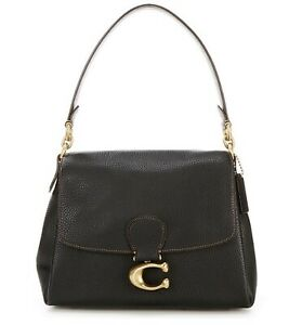 Coach May Soft Pebble Leather Shoulder Bag. New With Tags. Genuine. Retail $395