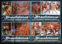 H82 Breakdance Fotobusta Lucinda Dickey Shabba Doo Ben Lokey Silberg Baer