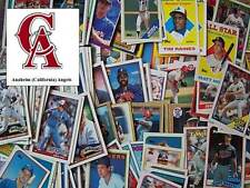 CALIFORNIA ANGELS - 2,000 Card Megalot (Assorted Players, Years, Companies)