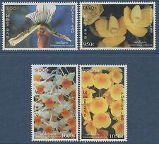 LAOS N°1327/1330**  Fleurs, orchidées, 1998, Flowers, Orchids  Sc#1394-1397 MNH