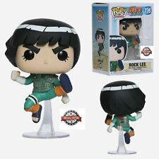 Funko Pop! Special Edition Naruto Shippuden, Rock Lee #186, New, w P protector