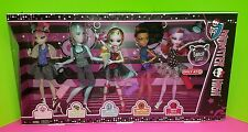 Monster High Dance Class 5 Pack Rochelle Gil Lagoona Robecca Operetta New