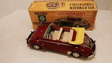 Vintage Nomura Showa Japan Tin Volkswagen Conv Battery & Friction Beetle Bug MIB