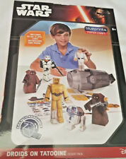 Star Wars Droids on Tatooine Desert Pack Paper Craft Blueprints Disney