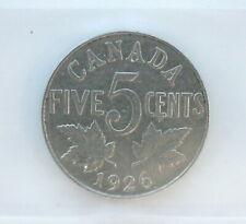 1926 CND 5 cents Nickel Far 6 • Grade VF-20