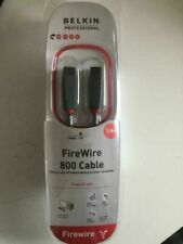 More details for belkin professional firewire 800 to 800 9 pin to 9 pin cable lead 1.8m