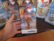 SAMUS amiibo METROID Super Smash Bros NINTENDO WII U & 3DS ** US VERSION **
