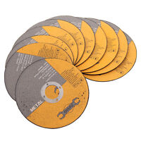 """10 Pack Of 230mm 9"""" Thin Metal Cutting Blade Discs Stainless Steel Angle Grinder"""