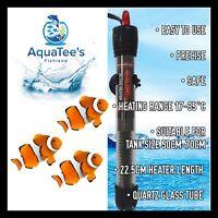AQUATEE AT-700 150W Glass Submersible Heater Aquarium Fish Tank MARINE & FRESH