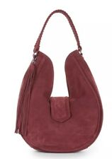 Bcbg Generation Suede Tassel Hobo Bag $298 New