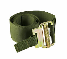 UKOM Olive Green Military Roll Pin Belt - 100% UK Manufactured - Tactical