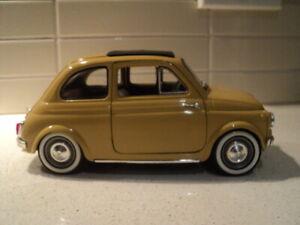 Solido Fiat 500 model car 1:16 scale