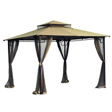 Sunjoy L-GZ136PST-8/8B Gazebo Canopy Set Replacement for Big Lots/OSJ stores