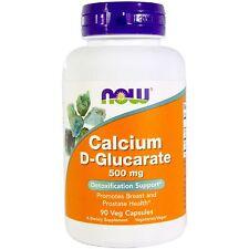 Calcium D-Glucarate, Detox/Breast/Prostate Health, 500 mg, 90 VCaps