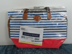 Dooney & Bourke Sullivan Shopper Tote~Blue Red~NWT!!!MSRP$168
