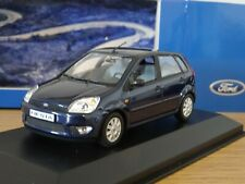 MINICHAMPS FORD FIESTA MK5 DARK BLUE 2002 5 DOOR CAR MODEL 403 081109 1:43