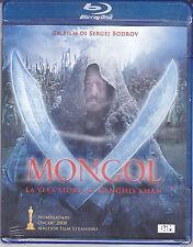 Blu-ray **MONGOL ♦ LA VERA STORIA DI GENGHIS KHAN** nuovo 2008