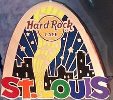 Hard Rock Cafe ST. LOUIS 2013 GAY PRIDE PIN Rainbow ARCH Skyline - HRC #73442