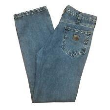 Carhartt B460 Relaxed Fit Straight Leg Jeans 32x34 Deepstone
