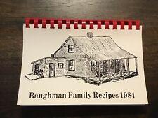 1984 BaughmanFamily Recipes Cookbook