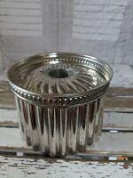 vintage bundt cake pan mold tin aluminum