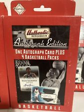 Fairfield Basketball Authentic Memorabilia Autograph Edition Trading Card Box