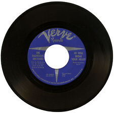 "RIGHTEOUS BROTHERS  ""HE WILL BREAK YOUR HEART c/w HE""    60's SOUL      LISTEN!"