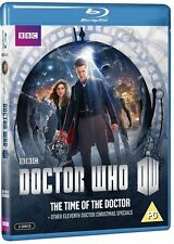 Doctor Who The Time of the Doctor & Other 11th Doctor Christmas Specials Blu ray