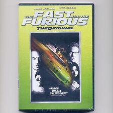 Fast & Furious: Original 2001 car street racing movie new DVD Paul Walker Diesel