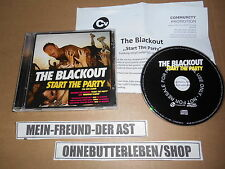 CD Pop The Blackout - Start The Party (11 Song) Promo COOKING VINYL
