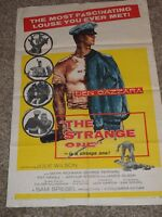 THE STRANGE ONE 1957 ONE SHEET MOVIE POSTER